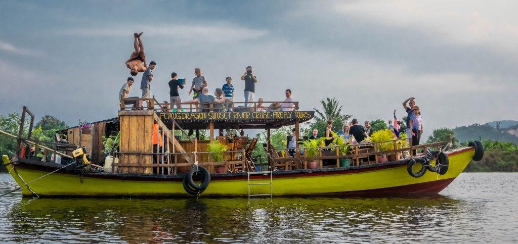 boat somersault