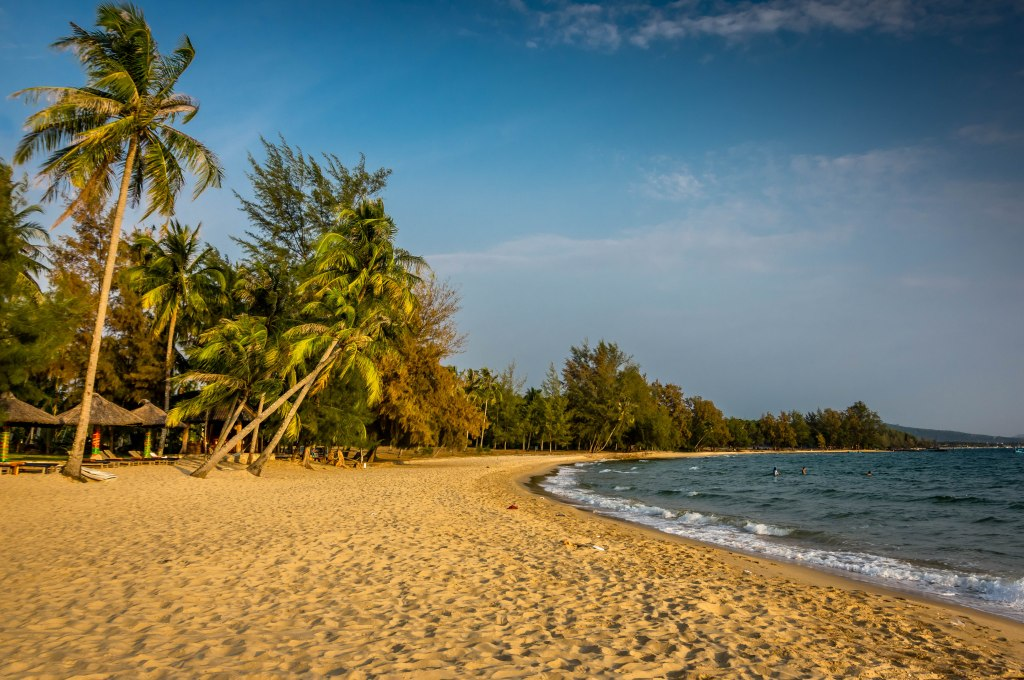 Beach arrival